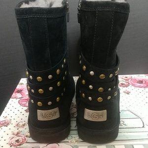 UGG Shoes - UGG Australia Clovis Boots, Black Size 8